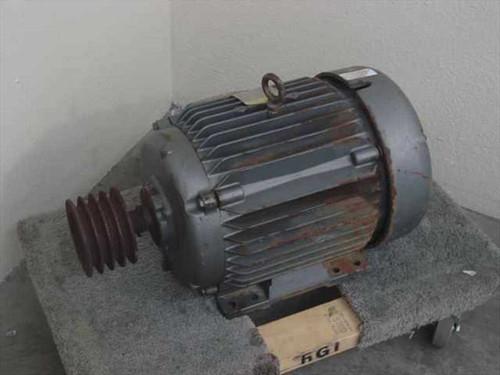 BALDOR EOP2333T-4  15 HP Super E Motor