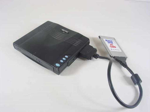 I/O Magic PSCD-740 Portable PCMCIA CD-ROM Drive for Older Laptops