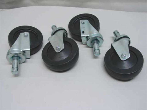 "Metro Metro Cart Wheels / Casters - Set of 4, 5"" Diameter (Cart)"