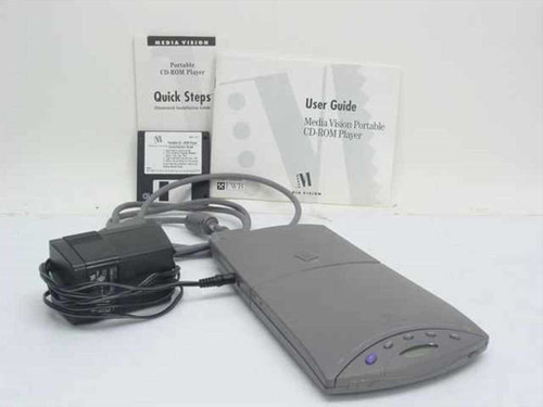 Media Vision 660-0020-02  Portable CD-ROM Player