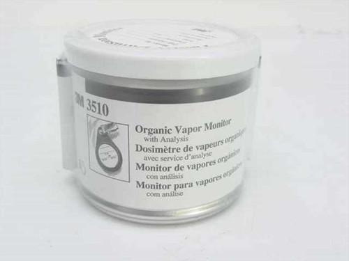 3M 3510  Organic Vapor Monitor with Prepaid Analysis
