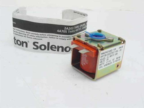 Dayton Electric R9516  Solenoid Coil 24V 17/12 Watts 50/60 Hz