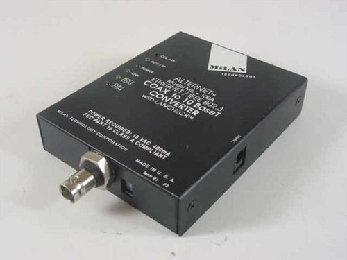 Milan Technology ML-1A-32387  Alternet Model MIL 100A Coax to 10 BaseT Converter