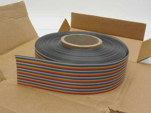 "Amphenol  135-2801-050  Spectra-Strip Color Coded .050"" 1.27mm Flat Cable"