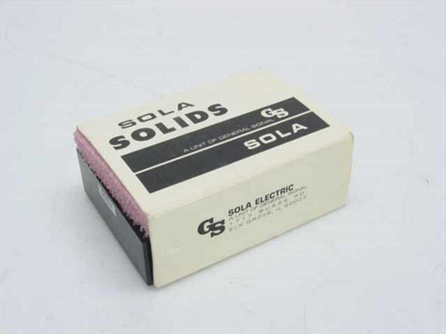 Sola Solids 84-05-150  Power Module 115V In 5VDC 500MA Out