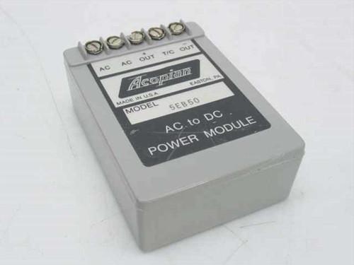 Acopian 5EB50  AC to DC Power Module Miniaturized