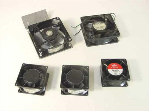 Generic 115V  Cooling Fans - Lot of 5