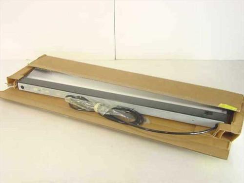 Lindsay Ferrari VT36  36 Inch Florescent Light Fixture Recessed Black