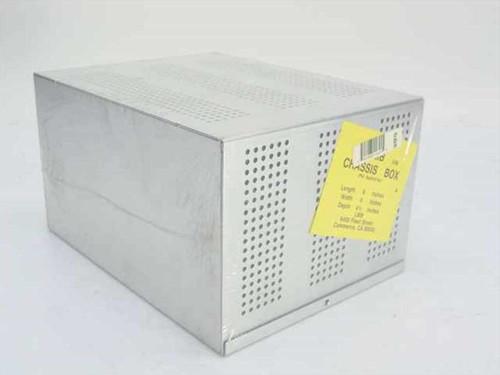 LMB L180-ND  Chassis Box 8 Inch x 6 Inch x 4.5 Inch Aluminum