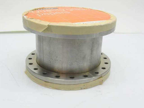Generic Vacuum Chamber  Stainless Steel 6 Inch x 4 Inch Chamber