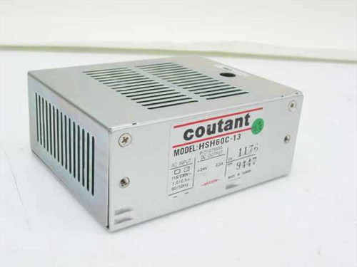Coutant Lambda HSH60C-13  PN G75535 24V 2.5A 60W Max DC Output Power Supply