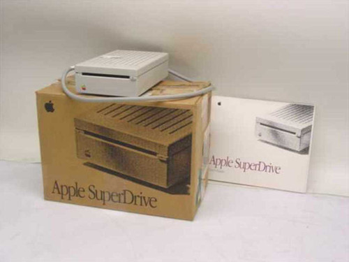 Apple G7287  SuperDrive 1.44 External Floppy Drive