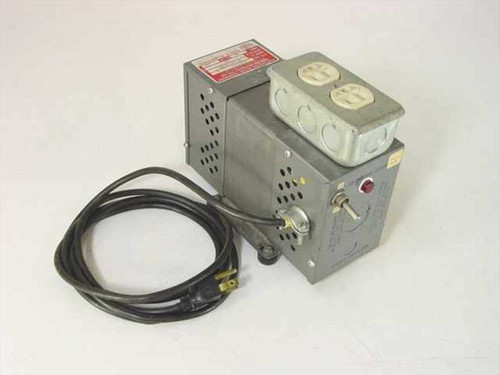 Sola Electric 23-22-112-2  Constant Voltage Transformer 118 V Out