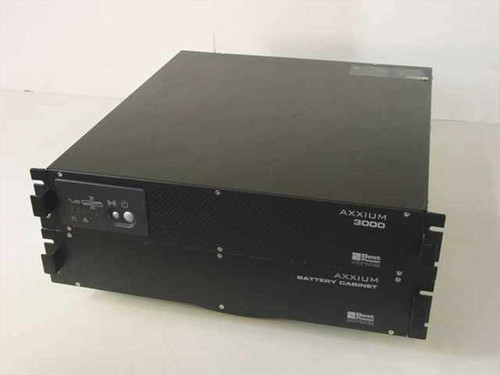 Axxium 06203000RUBK  Axxium 3000 & Battery Cabinet Backup Power Suppy-U