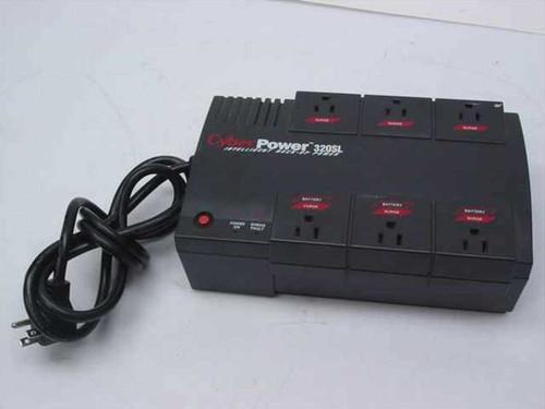 CyberPower CPS320SL  320 VA 320SL Intelligent Back-Up Power