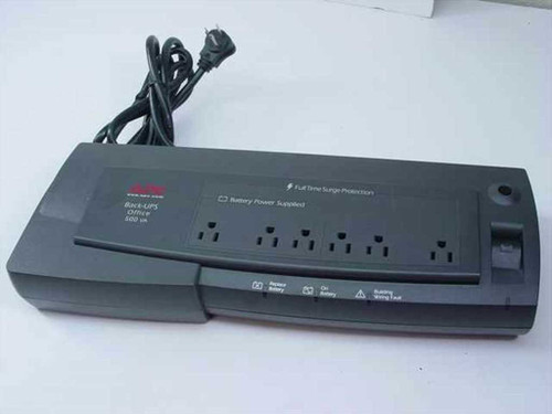 APC BF500U  500 VA Back-UPS Office Power Backup