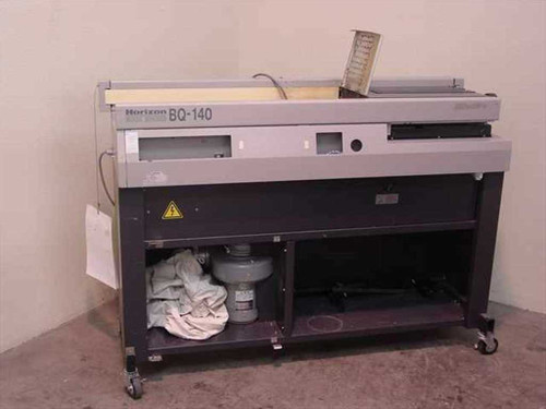 Horizon BQ-140  Perfect Binder Book Binder for Parts