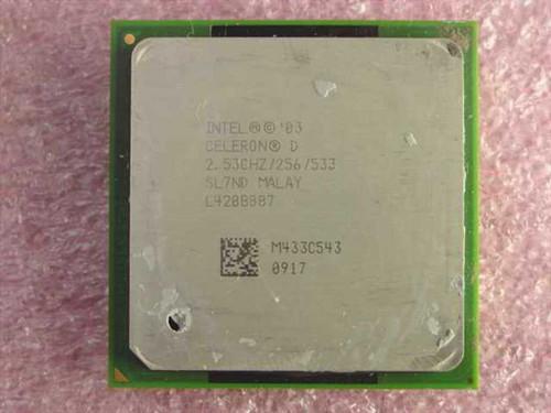 Intel SL7ND  P4 Celeron 2.53Ghz/256/533/1.25V Socket 478