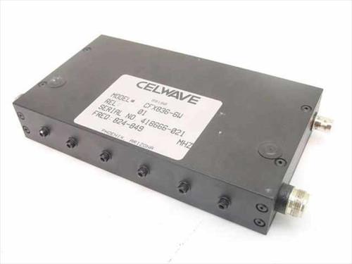 Celwave CFX836-6W  Celwave RF Preselector Filter 824-849 MHz