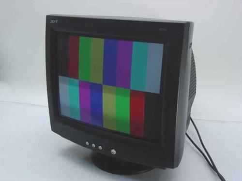 "Acer AC711  17"" Black CRT VGA Monitor"