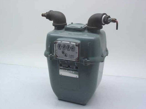 Rockwell Manufacturing Co. CL-250  Natural Gas Meter