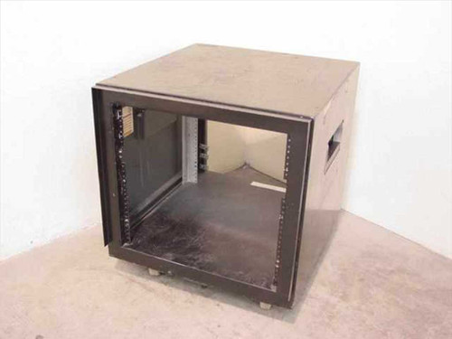 "Electronic Enclosures Inc EES-1-17524  Black 19"" Rackmount Cabinet w/Wheels"