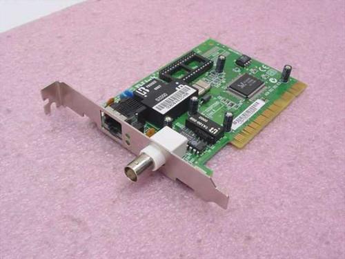 D-Link DE-528CT  Ethernet Combo PCI NIC 32-bit (1 RJ-45 & 1 BNC)