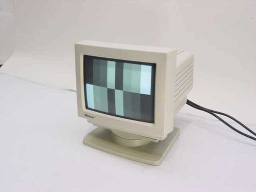 "Miracle MT-209  9"" Super VGA Monochrome Monitor 15-Pin"