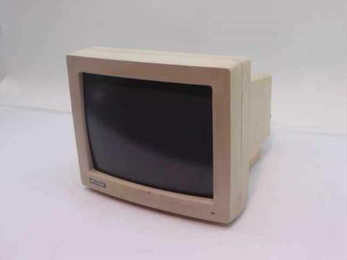 """Magitronic MA 1200  12"""" 9-pin Monochrome Display Monitor - Screen Burn"""