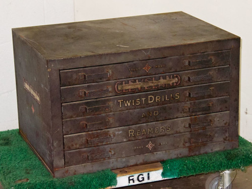 Cleveland Twist Drill Steel  Toolbox w/ Many Bits