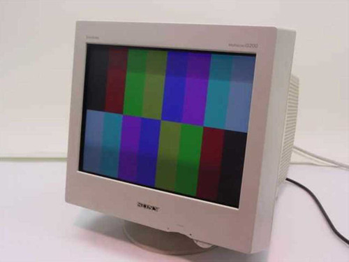 "Sony CPD-G200  17"" Trinitron Color Computer Display"