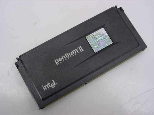 Intel SL2W7  Slot 1 PII 266Mhz CPU 512k 80523PX266512PE