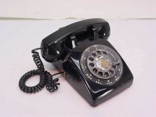 Bell System 500 DM   Rotary Telephone - Black AT&T Vintage Phone