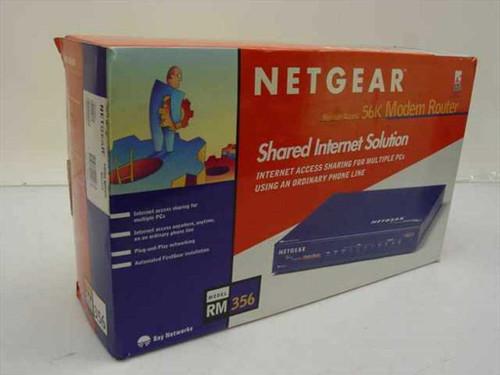 Netgear RM356NA  Ethernet Internet Router with V.90 56K modem