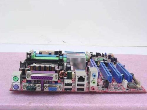 Jetway P4M-RS350/L  PGA 478B System Board
