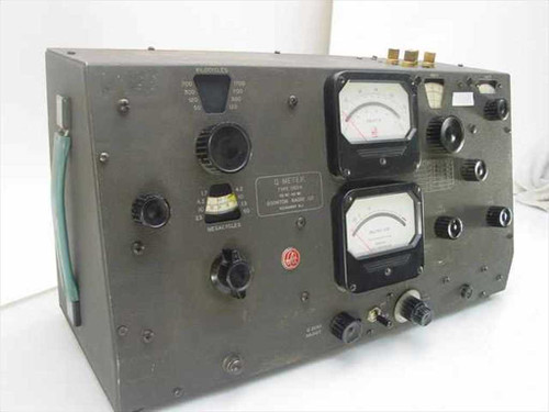 Boonton Radio Corp. 260-A  Q Meter 50 kHz - 50 MHz