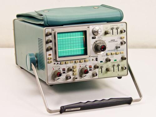 Tektronix 485   Oscilloscope Dual Trace 350MHz