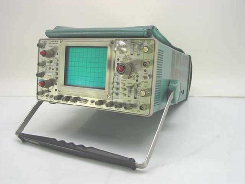 Tektronix 465B  Oscilloscope - Has Issues - Strong Z-Axis - As Is
