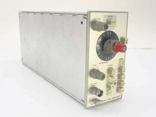 Tektronix 5B10N  Time Base/Amplifier Oscilloscope Plug-In