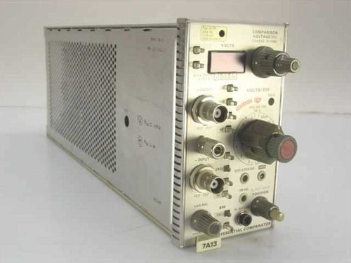 Tektronix 7A13  Differential Comparator Oscilloscope Plug-In