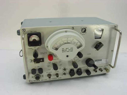 Singer  NM-25T  Radio Interference and Field Strength Meter