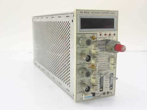 Tektronix DC 505A  Universal Counter/Timer Oscilloscope Plug-In AS IS