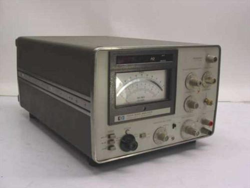 HP 3581A  Wave Analyzer 15Hz to 50 kHz - Knob Damage