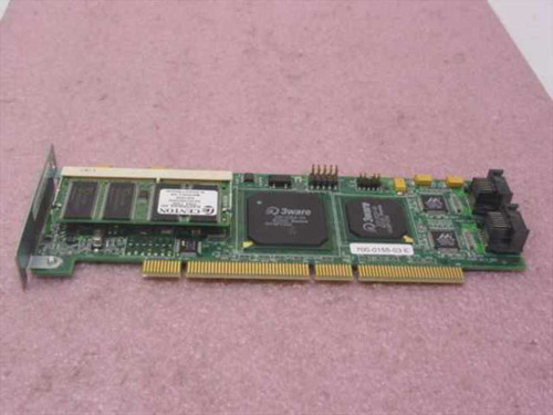 AMCC 9500S-4LP  3ware 64-bit/66MHz SATA Raid Controller Card 700-0