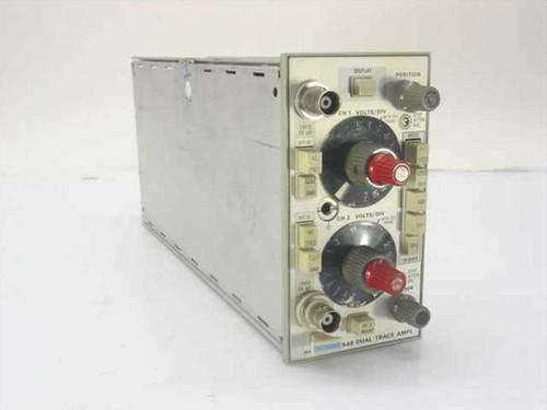 Tektronix 5A48  Dual Trace Amplifier Oscilloscope Plug-In - Untest