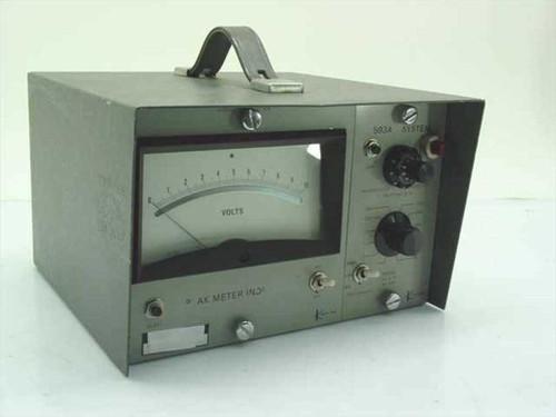 Kistler 593A  Charge Amplifier w/Peak Meter Indicator