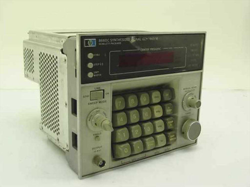 HP 8660C  Synthesized Signal Generator Control