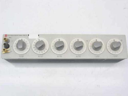 General Radio 1433-W  Decade Resistor