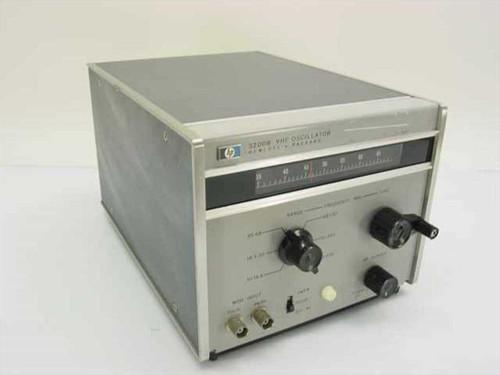 HP 3200B  VHF Oscillator