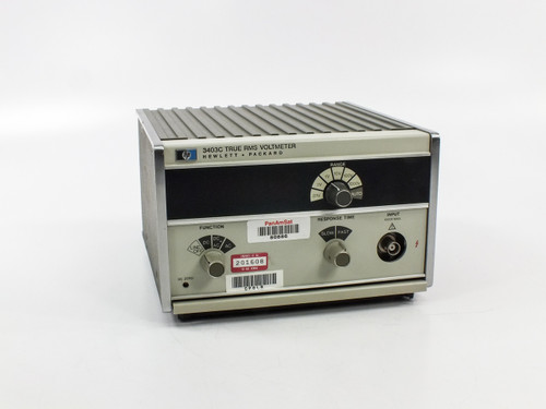 HP 3403C  True RMS Voltmeter